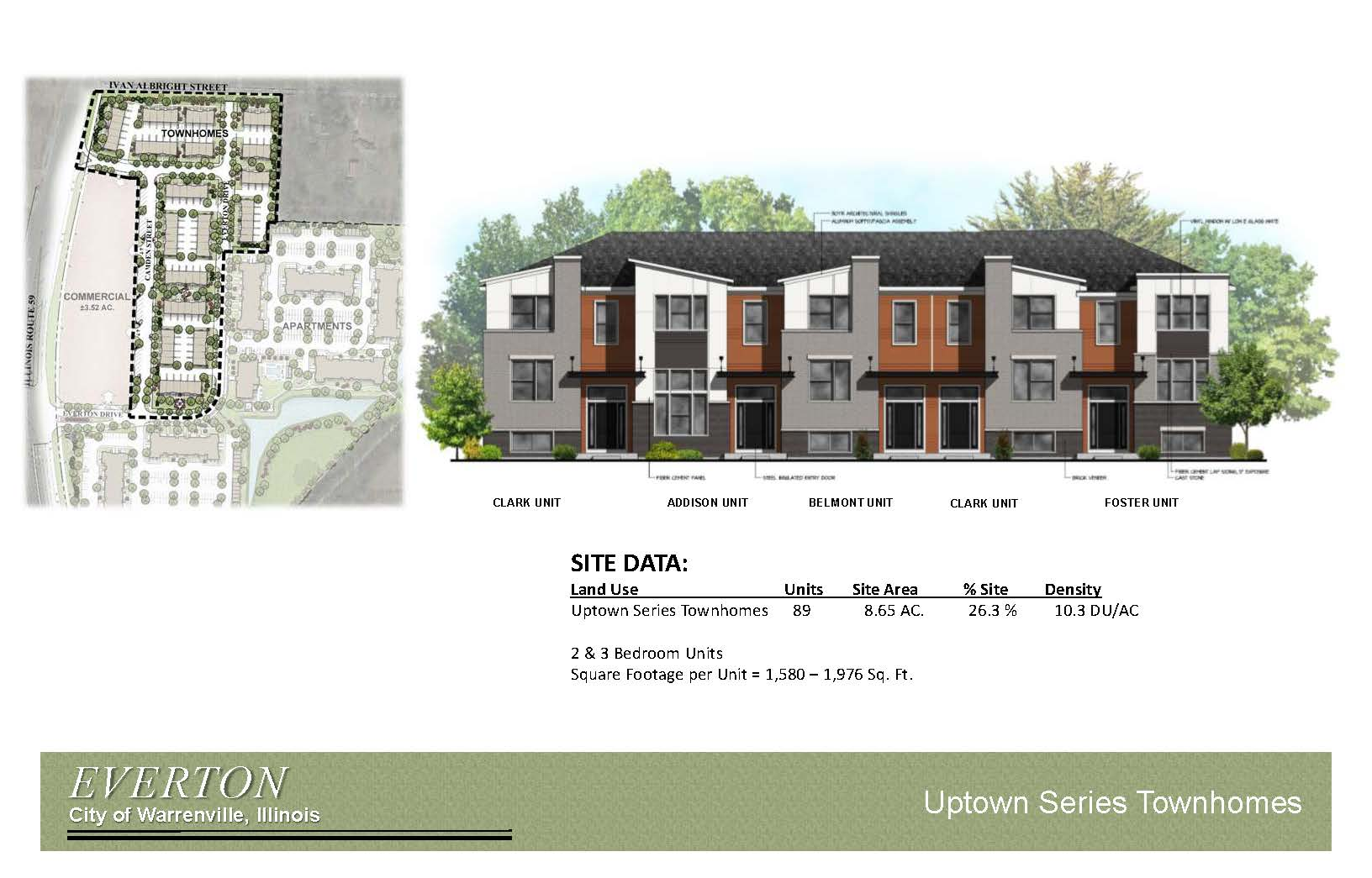 Everton Townhome Drawing