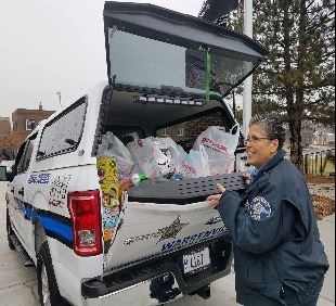 Toys for Tots delivery 2018
