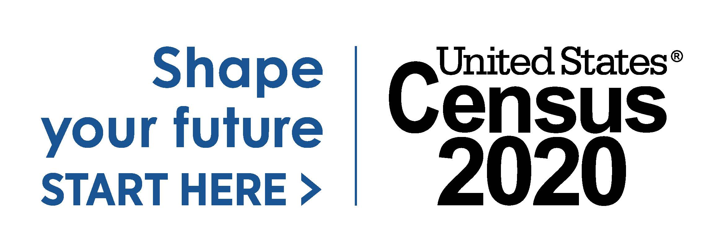 2020 Logo_Census_ Shape Your Future_Blue_Preferred