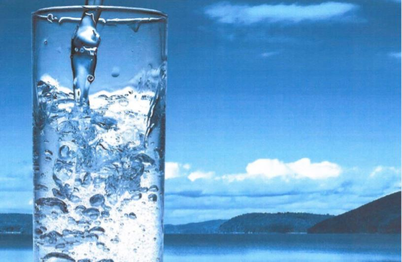 Photo of a glass of water