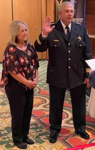 Chief Turano swearing in ceremony 09/24/20