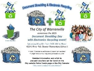 Shredding Day & Electronics Recycling Event
