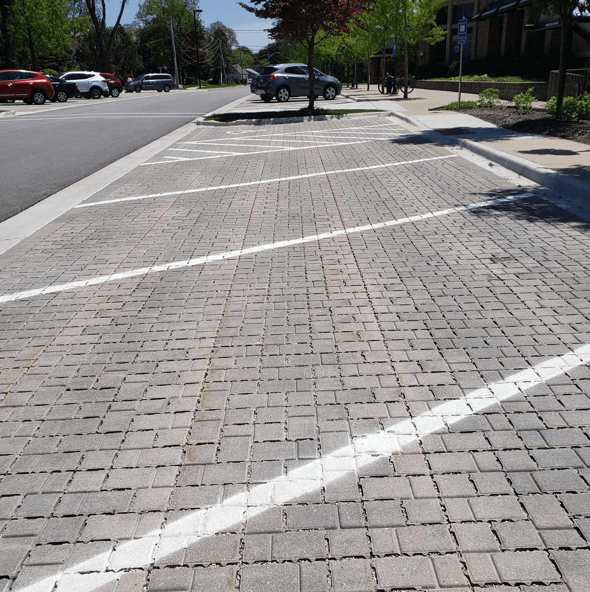 Warren Avenue Permeable Pavers