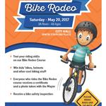 2017 Bike Rodeo Poster