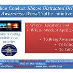 IL Distracted Driver Awareness Week