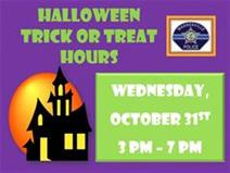 Halloween Trick or Treat Hours