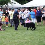 K-9 Unit at National Night Out
