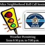 Police Neighborhood Roll Calls