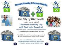 Annual Shredding Day with Electronic Recycling