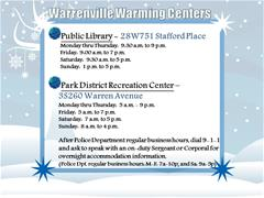 Local Warming Centers