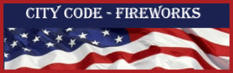 City Fireworks Code