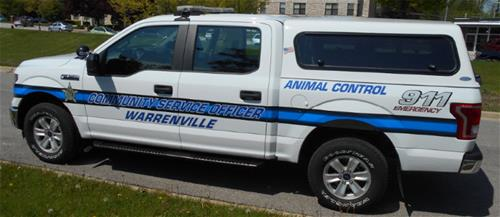 WVPD Animal Control Truck