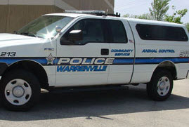Animal Control Service Vehicle