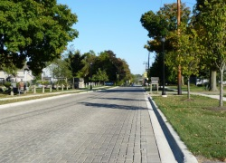 Permeable Paving on Warrenville Road